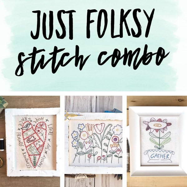 Just Folksy Stitch Combo