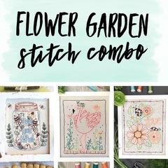 Flower Garden Stitch Combo