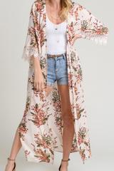Lawrence Floral Maxi Kimono