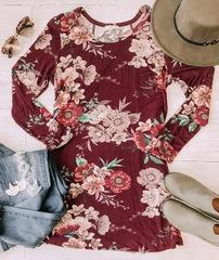 AliRae Floral Tunic