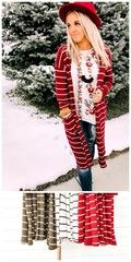 Nellie Striped Cardigan