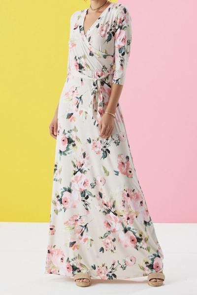 Quinn Floral Maxi Dress