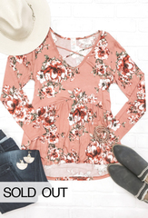 Ava Floral Babydoll Top