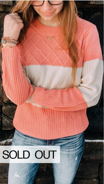 Miriam Colorblock Sweater