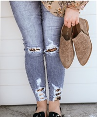 Cheetah KanCan Denim