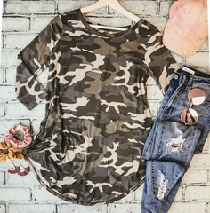 Camo No Layer Tee