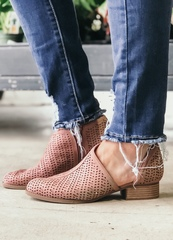 Babe Blush Booties