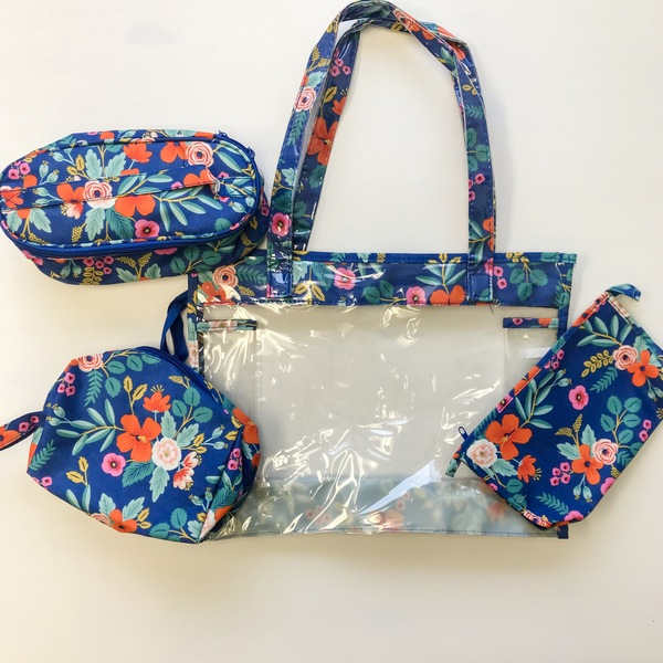 Floral Supply Bags- Blue