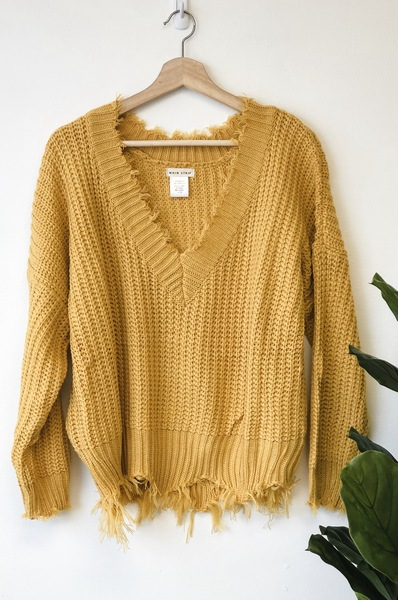 Recked Solid Pullover