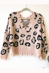 Cheetah Recked Pullover