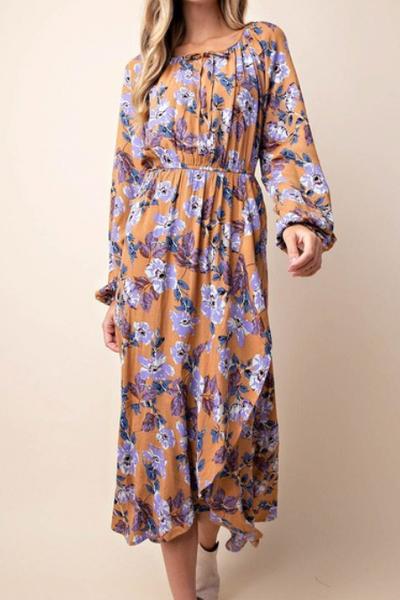 Kennedy Floral Midi Dress