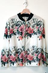 Lexi Floral Bomber Jacket