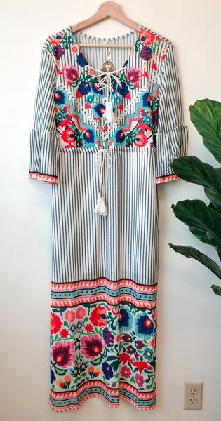 Florence Mix Print Dress