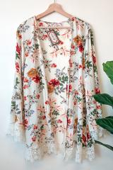 Ariana Floral Kimono