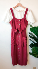 Margaret Button Up Dress