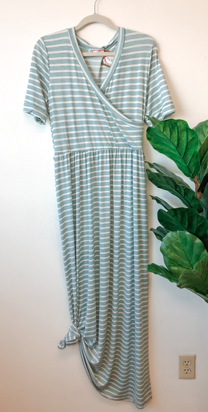 Ann Stripe Maxi Dress