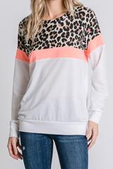 Sassy Cheetah Pullover