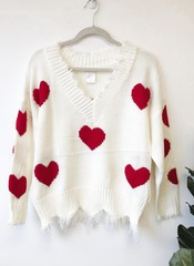 Queen Of Hearts Pullover