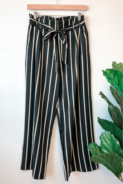 Nova Stripe Wide Leg Pants