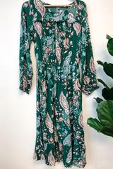 Elise Ruffle Detailed Dress