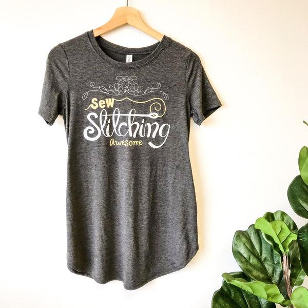 Sew Stitching Awesome Shirt