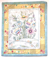 March Flower Garden Pattern