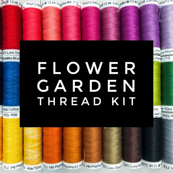 Flower Garden Thread Kit