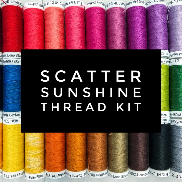 Scatter Sunshine Thread Kit