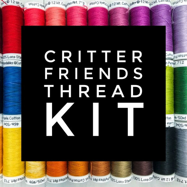 Critter Friends Thread Kit