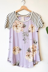 Lilac Blooms Top