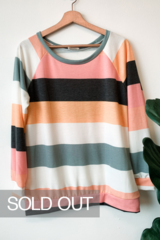 Marty Multi Stripe Top