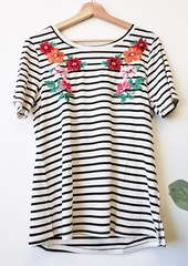 Sorrell Embroider Stripe Tee