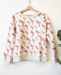 Flamingo Craz Pullover