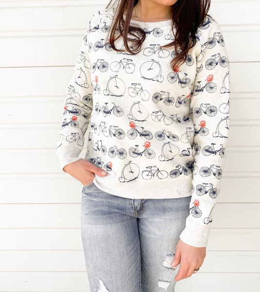 Bicycle Race Pullover