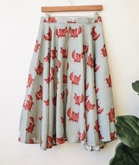 Fox Swing Skirt