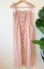 Aster Stripe Button Down Dress