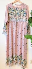 Idalia Mix Print Maxi Dress