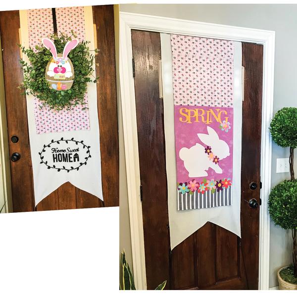 Spring Door Banner Kit