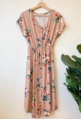 Suzy Floral Midi Dress
