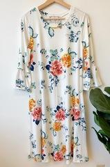 Esme Floral Midi Dress