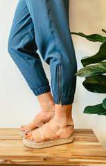 Blush Platform Sandals