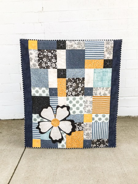 Shabby Patchwork Quilt PATTERN