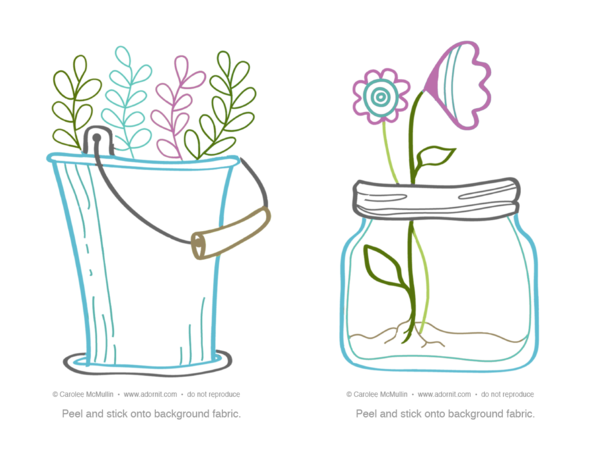 Herbs and Blooms PATTERN