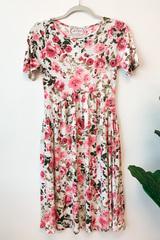 Emily Floral Midi Dress