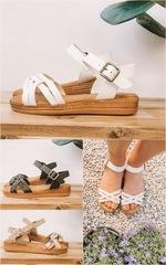 DBL criss cross sandals