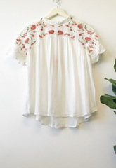 Snow Cottage Lace Blouse