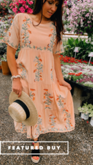 Wayfarer Boho Dress