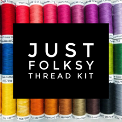 Just Folksy Thread Kit