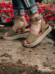 Rustic Gray Platforms