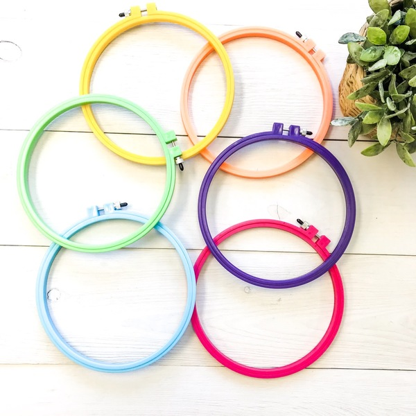 Plastic Embroidery Hoops